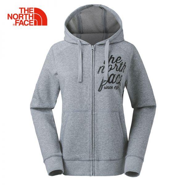 【经典款】TheNorthFace北面春夏新品舒适保暖女针织卫衣|3CGP