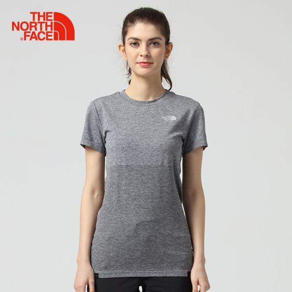 TheNorthFace北面春夏新品吸湿排汗户外运动女短袖T恤|3ERH