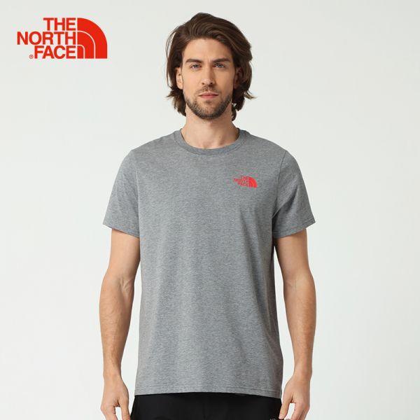 TheNorthFace北面春夏新品舒适透气户外情侣圆领短袖T恤|3L9T