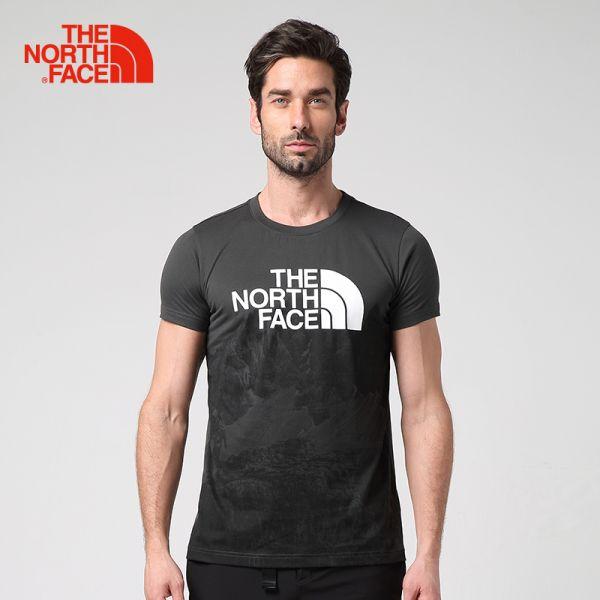 TheNorthFace北面春夏新品吸湿排汗透气户外运动男短袖T恤|2SM2