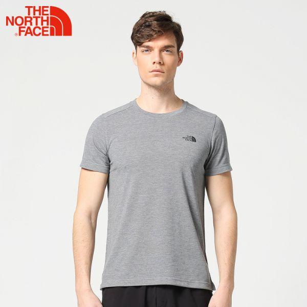 TheNorthFace北面春夏新品吸湿排汗户外休闲男短袖T恤 3CLS