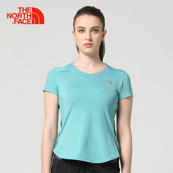 TheNorthFace北面夏季女舒适透气运动户外速干衣短袖T恤|2XV1