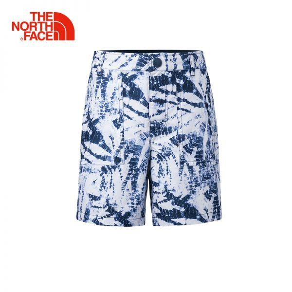 TheNorthFace北面童装夏季新款吸湿排汗户外休闲女童短裤|3CSI