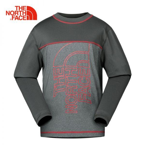 TheNorthFace北面童装春夏新款吸湿排汗户外休闲男童长袖T恤|3CPH