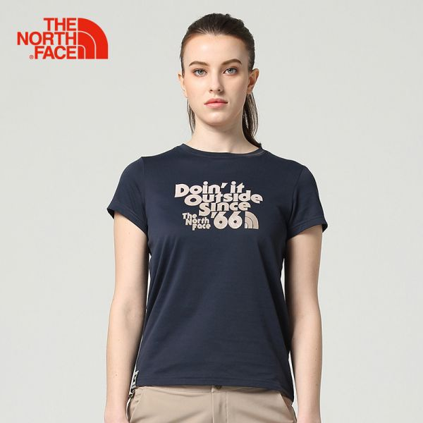 TheNorthFace北面春夏新品舒适透气户外休闲女短袖T恤|3CJC