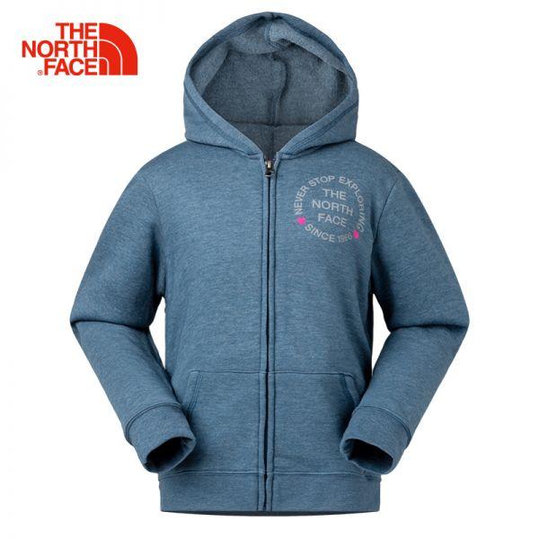 TheNorthFace北面童装春季新款保暖户外休闲女童针织衫卫衣|3CU6