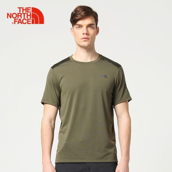 TheNorthFace北面春夏新品吸湿排汗户外运动男短袖T恤|3GE8