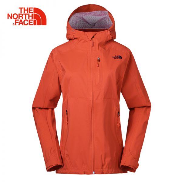 TheNorthFace北面春夏新品防水透气户外防风女冲锋衣|3GIM