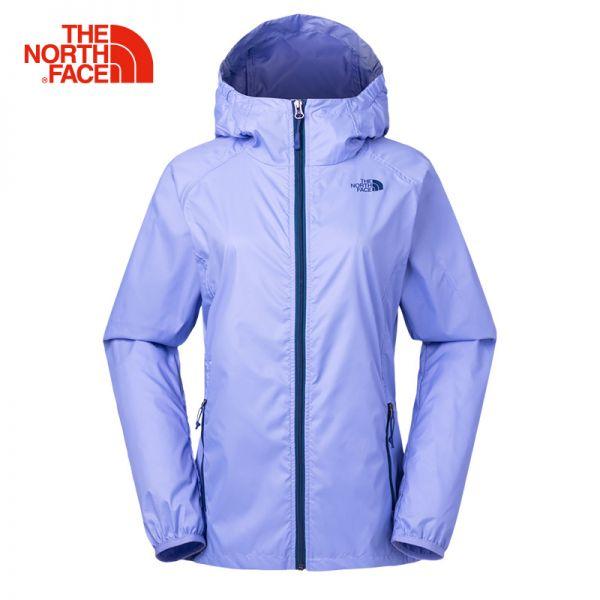 【经典款】TheNorthFace北面夏透气防风户外运动女皮肤衣|368G