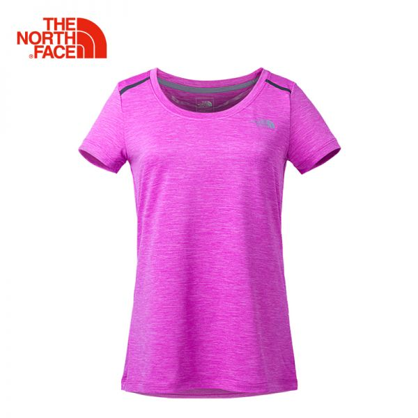 TheNorthFace北面春夏新品吸湿排汗户外徒步女短袖T恤|3CHZ