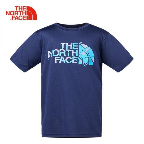 TheNorthFace北面童装春夏新款舒适透气户外运动男童短袖T恤|3CPI