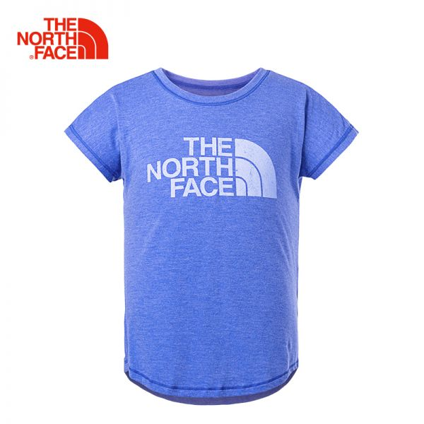 TheNorthFace北面童装夏季新款舒适透气户外运动女童短袖T恤|3CSQ