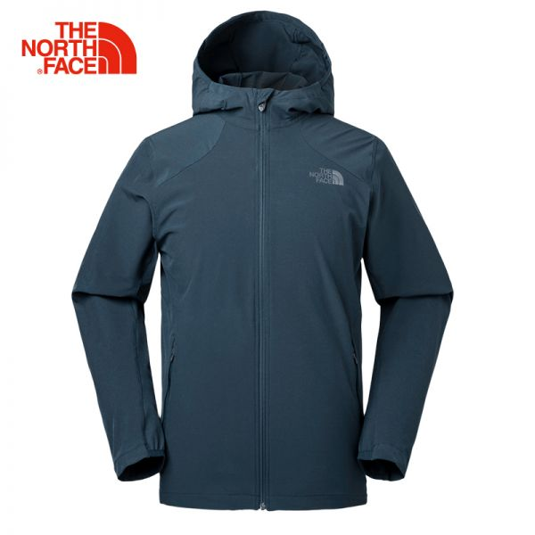 TheNorthFace北面18春夏新品透气防风户外男款弹力运动风衣|3GE1