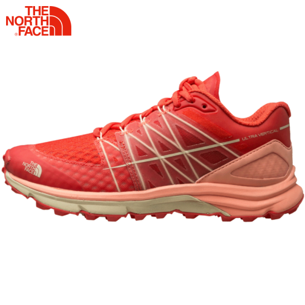 TheNorthFace北面夏季舒适透气快干稳定缓震运动女越野跑鞋|2VVD