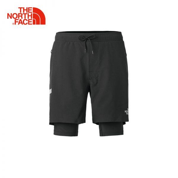 TheNorthFace北面春夏新品吸湿排汗防泼水户外运动男短裤|3LE7