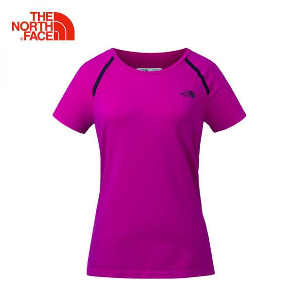 TheNorthFace北面春夏新品吸湿排汗透气户外运动女短袖T恤|3CHY