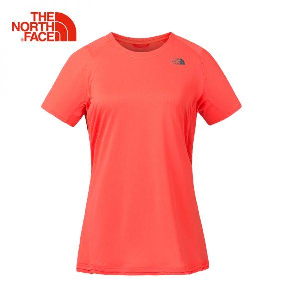 TheNorthFace北面春夏新品吸湿排汗户外跑步女短袖T恤|3F22