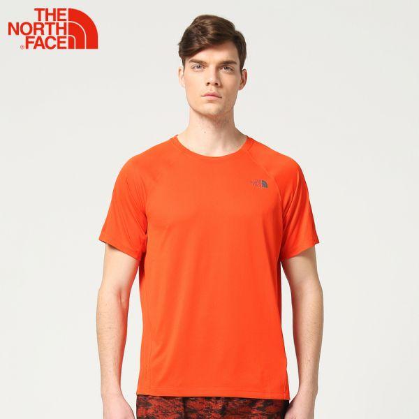 TheNorthFace北面春夏新品吸湿排汗户外运动男短袖T恤|3F1M