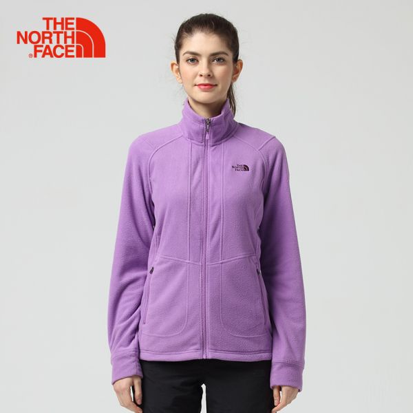【经典款】TheNorthFace北面春夏新品舒适保暖女抓绒外套|3CGO