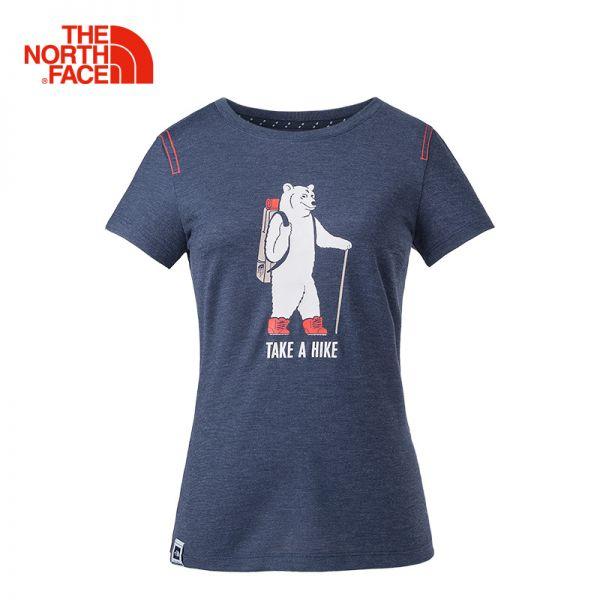 TheNorthFace北面春夏新品吸湿排汗户外休闲女短袖T恤|3CJ1