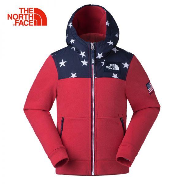 TheNorthFace北面童装春季新款舒适保暖户外女童针织卫衣|3C17