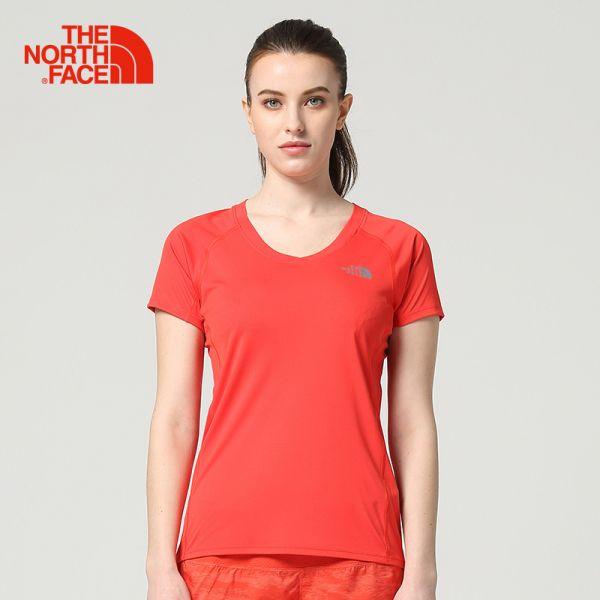 TheNorthFace北面春夏新品吸湿快干户外运动女短袖T恤|3GEK
