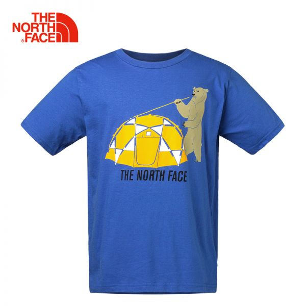 TheNorthFace北面童装春夏新款轻薄户外运动男童短袖圆领T恤|CB8M