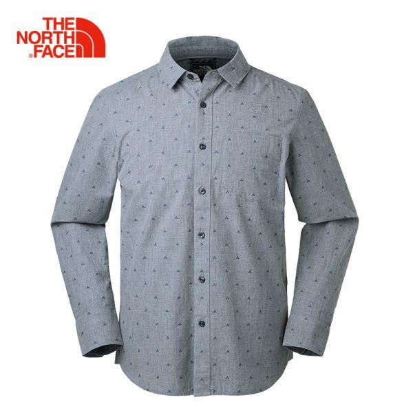 TheNorthFace北面春夏新品舒适透气户外休闲男长袖衬衫|3GDB