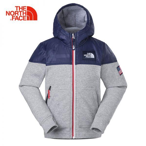 TheNorthFace北面童装春新款舒适保暖户外运动男童针织卫衣|3C12