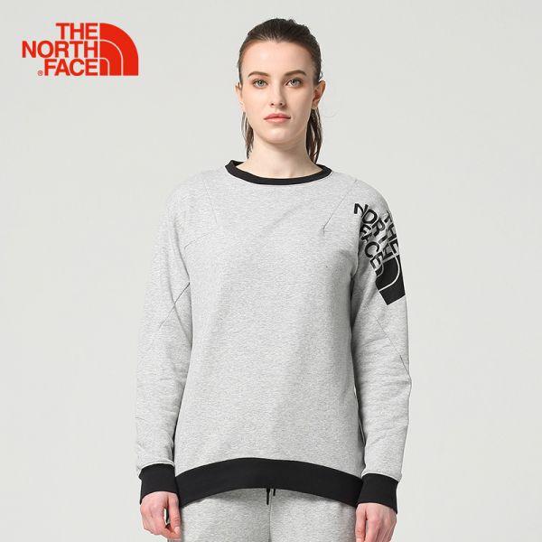 TheNorthFace北面春夏新品舒适柔软户外运动女针织卫衣|3LL7