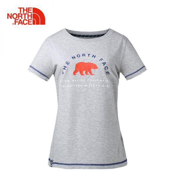 TheNorthFace北面春夏新品舒适透气户外休闲女短袖T恤|3CIZ