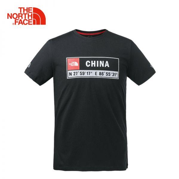 TheNorthFace北面春夏新品吸湿排汗户外情侣款短袖圆领T恤|3V86