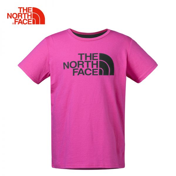 TheNorthFace北面童装春夏新款轻薄透气户外运动女童短袖T恤|CB7A