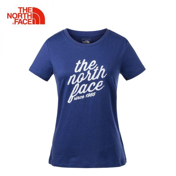 【经典款】TheNorthFace北面春夏新品透气户外休闲女短袖T恤|3LBF