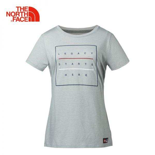 TheNorthFace北面春夏新品舒适柔软户外休闲女短袖T恤|3IBG
