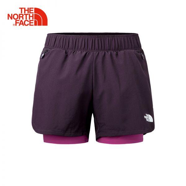 TheNorthFace北面春夏新品吸湿排汗防泼水户外运动女短裤|3LE8